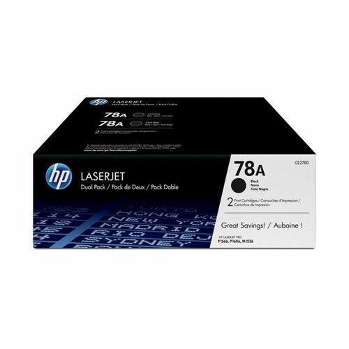 Toner oryginalny CE278AD - 78A do HP LaserJet Pro M1536 P1566 P1606 / 2x 2100 stron / Czarny / Dwupak