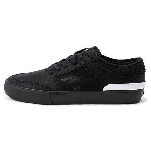 buty FALLEN - Ripper Chris Cole -Black/Black/White (BLACK-BLACK-WHITE) rozmiar: 45, kolor biały