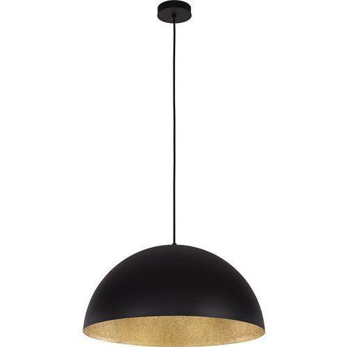 Lampa wisząca zwis Spot Light Tuba 1x60W E27 czarny/złoty 1030143, kolor czarny/złoty