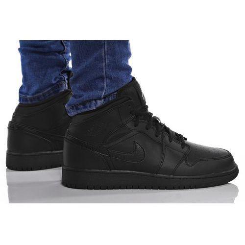 Nike Buty air jordan 1 mid bg 554725-044