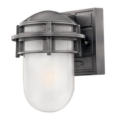 Zewnętrzna LAMPA wisząca HK/REEF8 HE Elstead HINKLEY klasyczna OPRAWA ogrodowa ZWIS IP23 outdoor srebrny biały