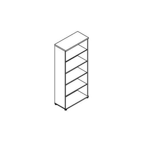 Svenbox Regał otwarty h55 wymiary: 80,2x38,5x183,3 cm