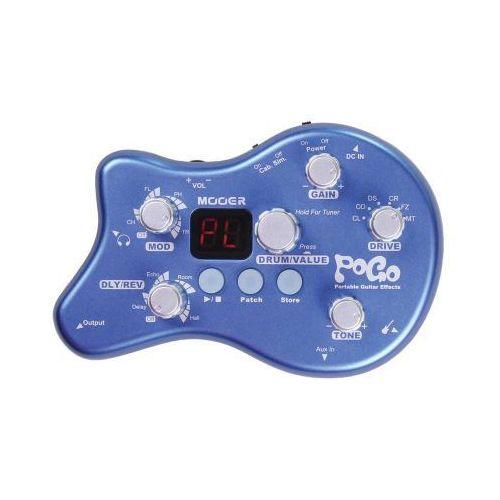 pogo, portable effects with power supply, efekt gitarowy marki Mooer