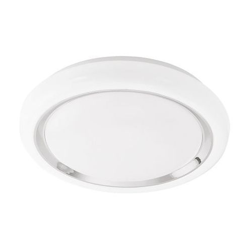Plafon Eglo Capasso 96023 lampa sufitowa 1x18W LED biały / chrom, 96023