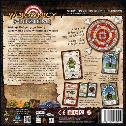 Wojownicy podziemi marki Lucrum games