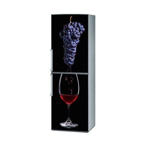 Mata magnetyczna na lodówkę - kieliszek wina i winogrona 4324 marki Stikero