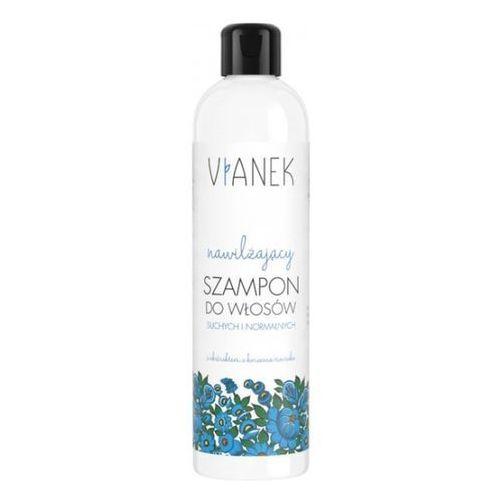 niebieski - nawilżający szampon do włosów marki Vianek
