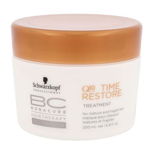 SCHWARZKOPF BC Time Restore Maska Wzmacniajaca Q10 200ml (4045787238693)