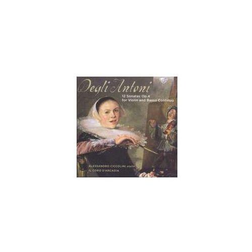 12 Sonatas For Violin And Basso Continuo, 95118