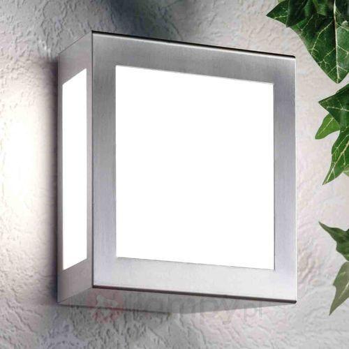 Cmd creativ metalldesign gmbh Kwadratowa lampa ścienna zewnętrzna quadro
