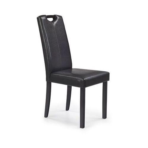 CARO krzesło wenge / ciemny brąz