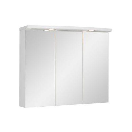 Szafka lustrzana z oświetleniem biała marki Astor