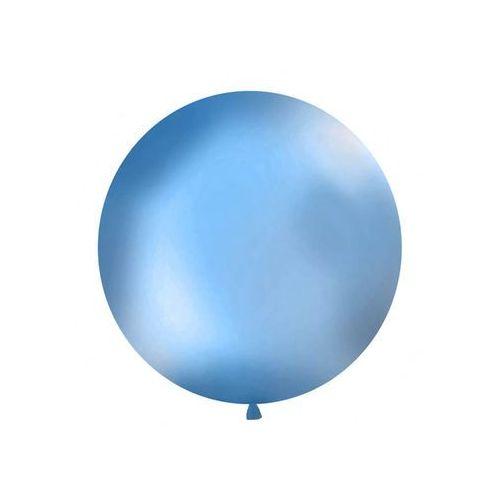Balon gigant niebieski 100cm 1 szt. marki Twojestroje.pl