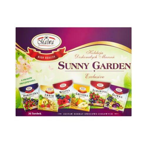 Malwa 36x2g sunny garden zestaw herbat owocowo-ziołowych (36 torebek)