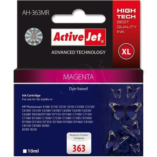 Activejet tusz AH-363MR / C8772EE nr 363 (magenta) Darmowy odbiór w 20 miastach!, EXPACJAHP0060