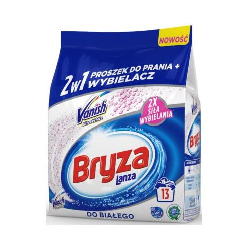 BRYZA 1kg Lanza Vanish Ultra White 2w1 Proszek do prania + wybielacz (13 prań)