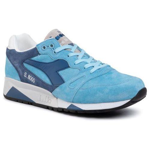 Sneakersy DIADORA - S8000 Italia 501.170533 01 C6582 Air Blue/Dark Blue