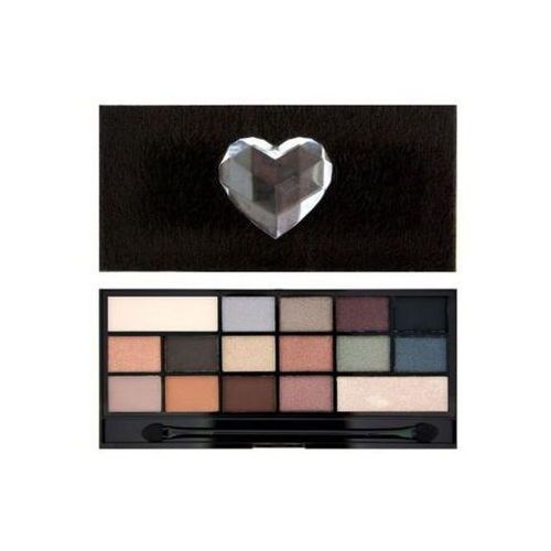 Makeup revolution  i ♥ makeup naked underneath paleta cieni do powiek (16 eyeshadows) 22 g (5029066053282)