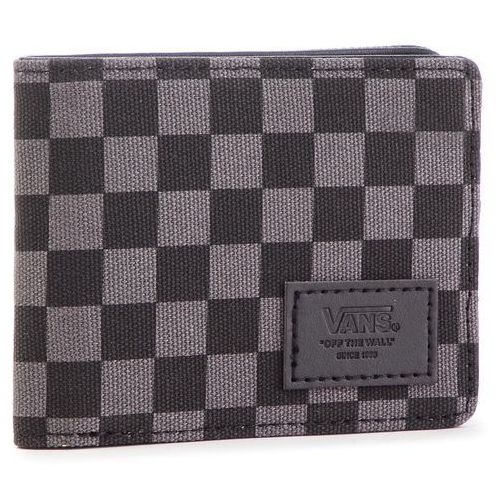 399b9039346ee Duży Portfel Męski VANS - Boyd III Wallet VN0A3HI7BA5 Black/Charcoal ...