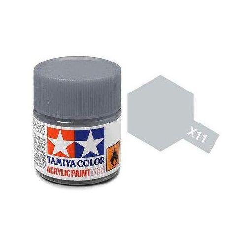 farba acrylic min i x-11chrome sil marki Tamiya