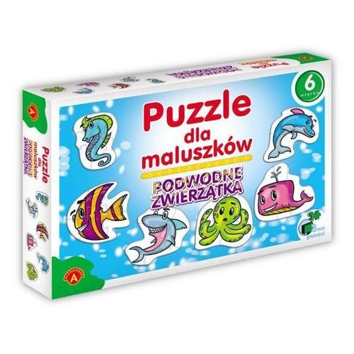 Alexander Puzzle dla maluszków podwodne zwierzątka (5906018005363)
