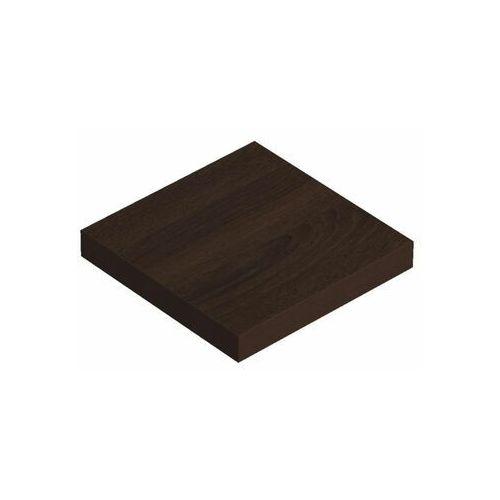 Domax Półka ścienna komorowa wenge 23.5 x 23.5 cm velano