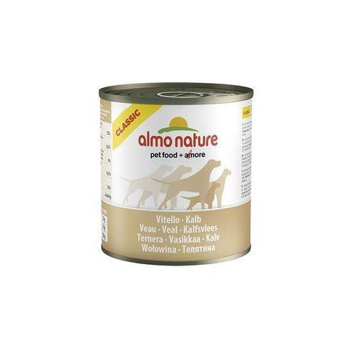 Almo nature  classic dog veal (cielęcina) - puszka 290g
