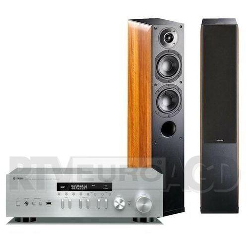Yamaha musiccast r-n402d (srebrny), indiana line nota 550 x (orzech)