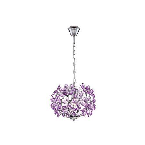 5143 - lampa wisząca purple 1xe27/60w/230v marki Globo