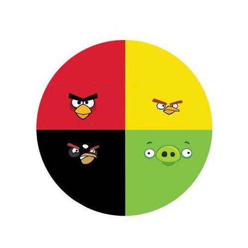 Dekoracyjny opłatek tortowy Angry Birds - 20 cm - 3