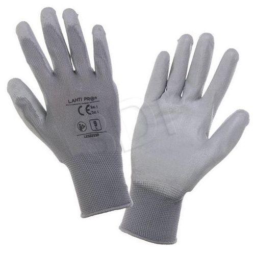 Rękawiczki LAHTI ochronne (L szary)- wysyłamy do 18:30, L230209W