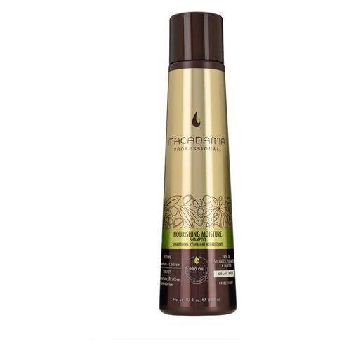 nourishing moisture - nawilżający szampon do włosów szorstkich 100ml marki Macadamia