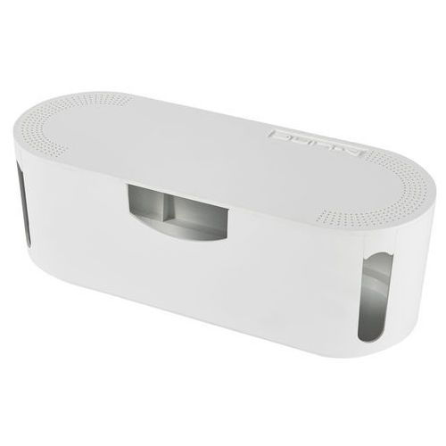 D-line Organizator na kable 125 x 115 x 326 mm biały