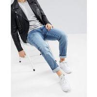 Replay Anbass Hyperflex Light Wash Slim Jeans - Blue, kolor niebieski
