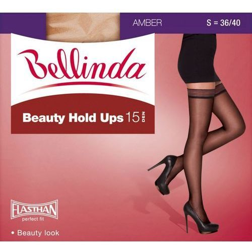 1 Beauty Hold Ups BE280001 pończochy 20 den, kolor czarny