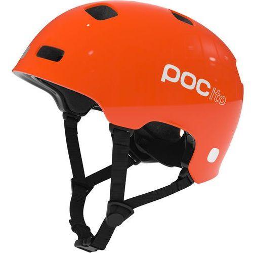 pocito crane kask rowerowy dzieci pomarańczowy 55-58 cm 2018 kaski rowerowe marki Poc