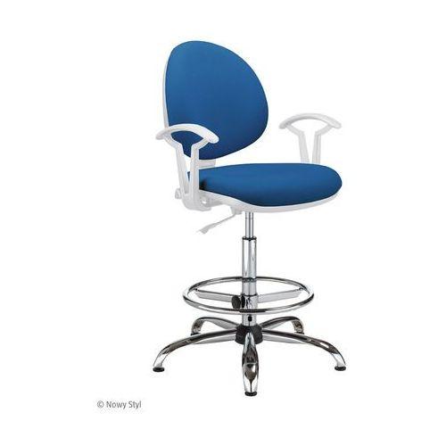 Nowy styl Krzesło specjalistyczne smart white gtp27 steel04 ring base chrome