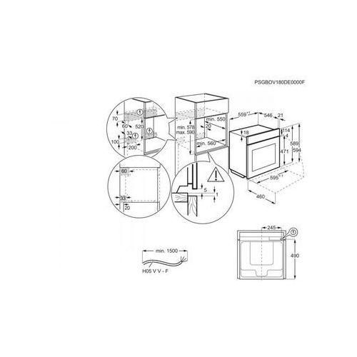 Electrolux EOB8S31X