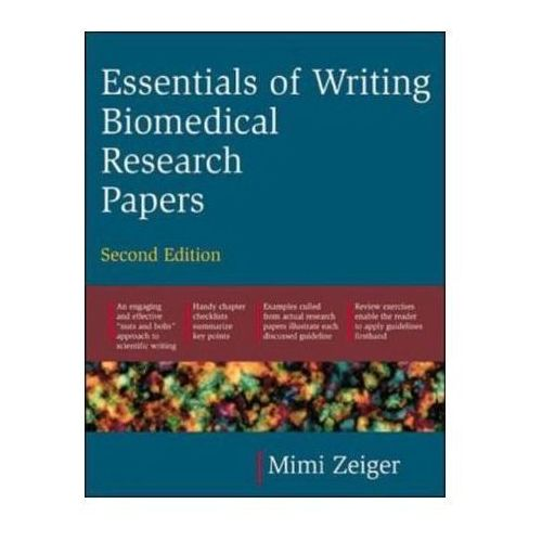 Essentials of Writing Biomedical Research Papers (9780071345446)