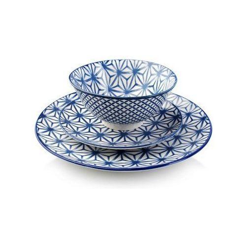 Serwis obiadowy dla 6 osób marocco porcelanowy marki Mondex
