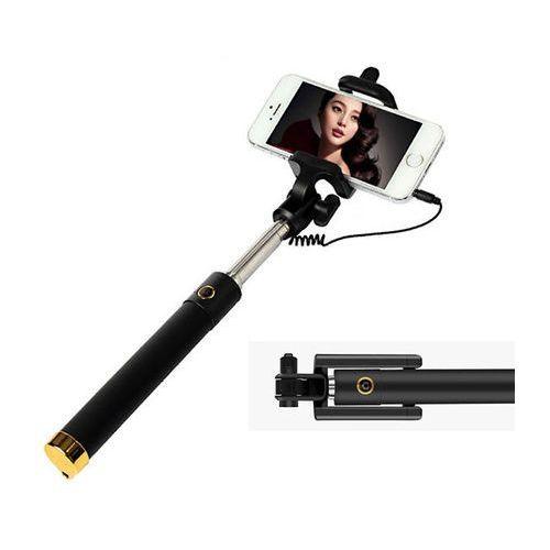 Uniwersalny uchwyt Selfie Stick do aparatów i smartfonów Monopod - Złoty