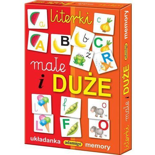 ADAMIGO Gra Memory Literki Małe i Duże (5902410005109)