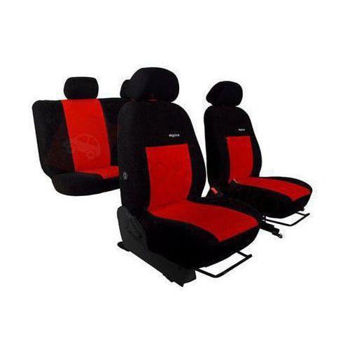 Pokrowce samochodowe ELEGANCE Czerwone Fiat Panda II 2003-2011 - Czerwony