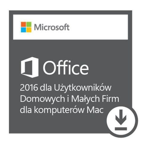 Microsoft Ms esd office mac home and business 2016 eurozone pklic onln dwnld c2r nr all lng (ml) (0885370936407)