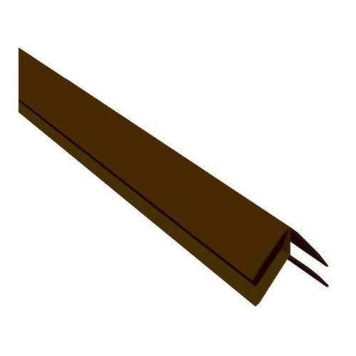 Listwa boazeryjna kątowa VOX B1 zewnętrzna 2,7 m jasny brąz (5905952244036)