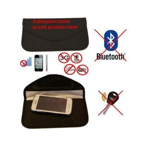 C.f.l. Duży pokrowiec na tel. gsm/smartfon, kluczyk samoch.. (chroni przed inwigilacją..), blokując sygnał.