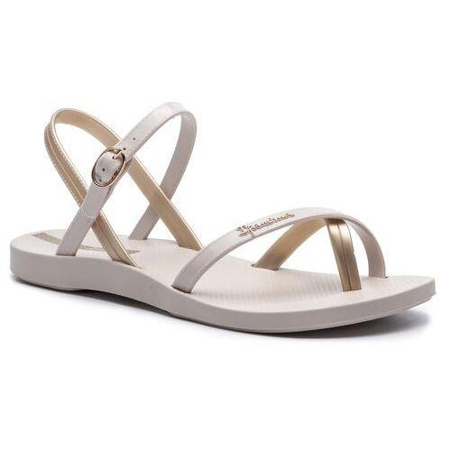 Sandały - fashion sand. vii fem 82682 beige/gold 20352 marki Ipanema