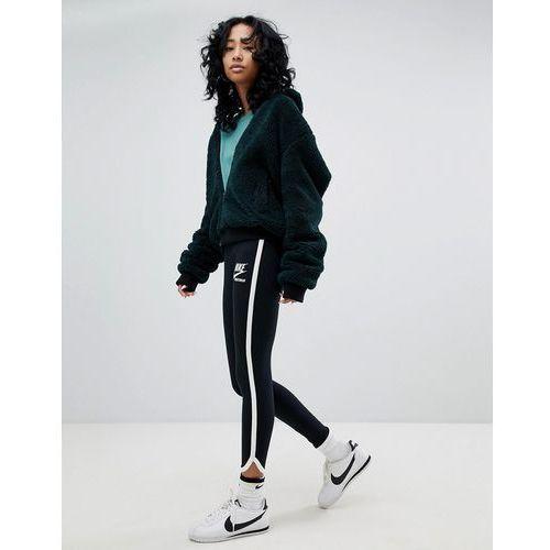 archive leggings in black with piped trim - black marki Nike