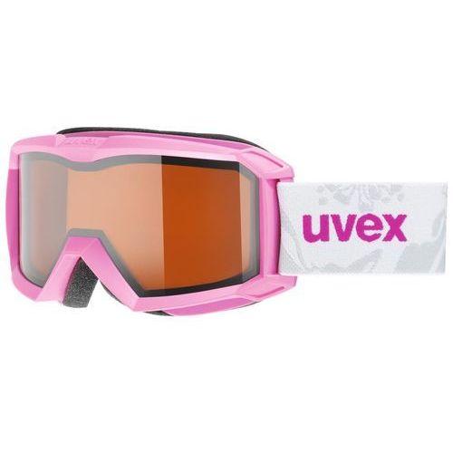 flizz lg gogle dzieci różowy gogle narciarskie marki Uvex