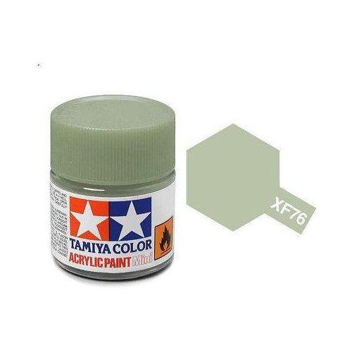Farba akrylowa - XF76 Gray-Green IJN matt / 10ml Tamiya 81776
